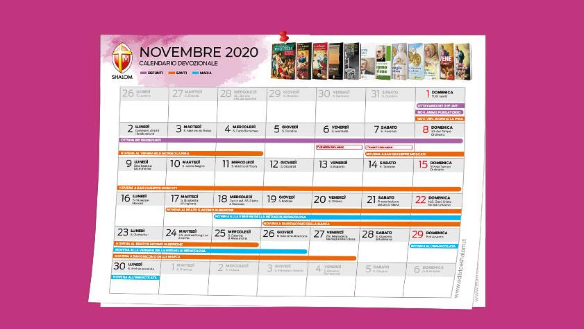 Il mese di novembre tutte le devozioni