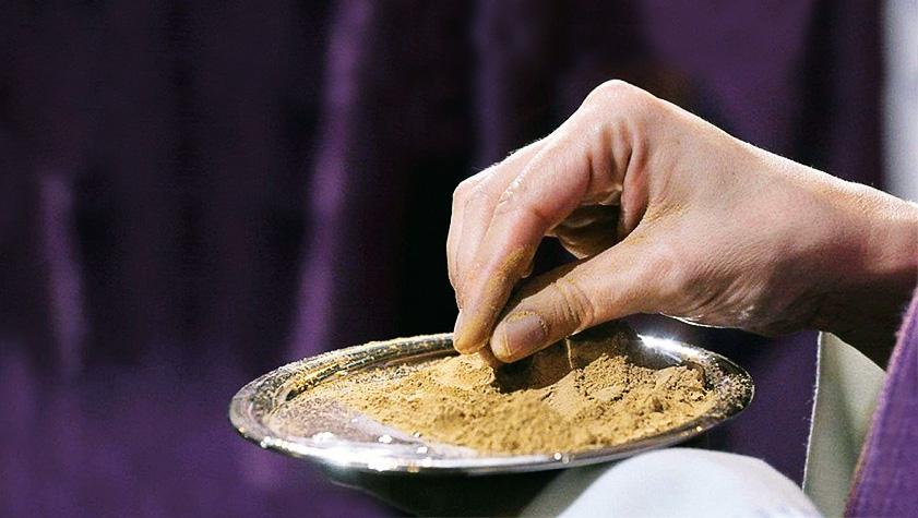 Mercoledì delle Ceneri: «Siamo la polvere amata da Dio»